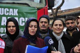Konyadan Bayırbucak Türkmenlerine yardım