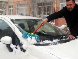 Kışın aracınızı 3-5 dakika çalıştırmadan kullanmayın