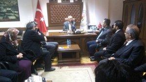 AK Parti Konya il teşkilatı Hüyükte