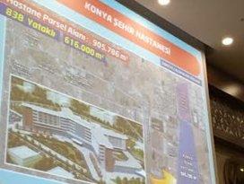 Konya Şehir Hastanesi için tarih verdi