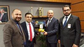 KONTİMDER Yönetim Kurulu, Konya Milletvekillerini ziyaret etti