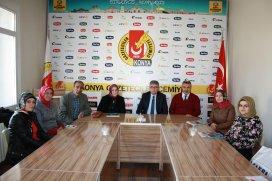AK Parti Meram Kadın Kolları'ndan ziyaret