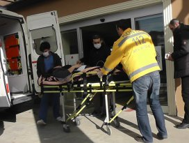Kulu'da otomobil bariyere çarptı: 1 yaralı