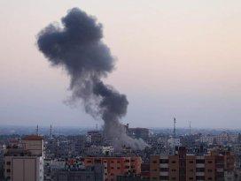 İsrail'den Gazze'ye hava saldırısı: 1 ölü, 3 yaralı