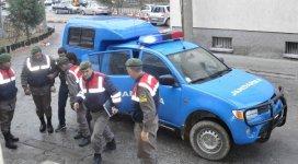Akşehirde tarım malzemesi çalan hırsız yakalandı
