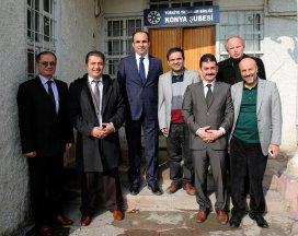 Başkan Altay'dan TYB'ye ziyaret