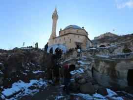 Konya Heyeti dünyanın en büyük yeraltı yerleşiminde incelemelerde bulundu