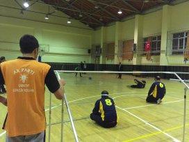 AK  Gençliten görme engellilerle maç