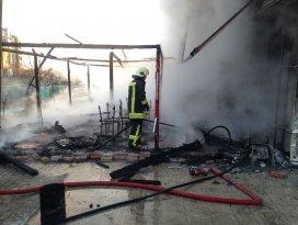 Konyada kafeteryada patlama