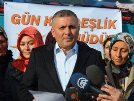 AK Parti Konya'dan kardeşlik eli