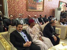 Milletvekili Özdemir İSİPAB Toplantıları için Bağdat'ta