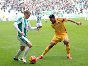 Torku Konyaspor tek golle geçti