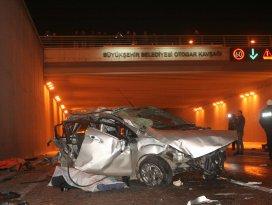 Konyada minibüs ile otomobil çarpıştı: 3 ölü