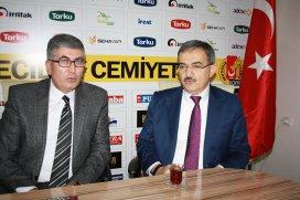 Rektör Şahinden Konya Gazeteciler Cemiyetine ziyaret