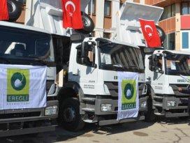 Ereğli Belediyesinin araç filosu güçlendi