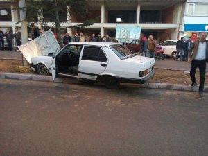 Konyada trafik kazaları: 2 yaralı