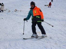 Aladağda kayak etkinliği