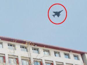 Orgeneral adliye üzerinde F-16 uçurdu!