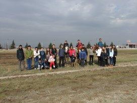 Akşehirde kurulan okçu derneği ilk toplatısını yaptı
