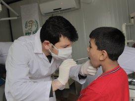 Konya Genç İHHdan yetim çocuklara diş taraması