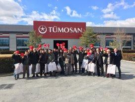 Konyalı çiftçiler TÜMOSAN'ı ziyaret etti
