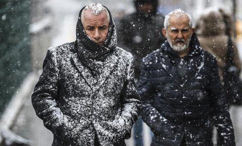 Meteorolojiden kuvvetli rüzgar ve kar uyarısı