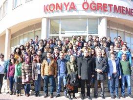 Şırnak'ta görev yapan öğretmenler Konya'da