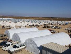 Türkiye, Suriyede çadır kent kuruyor