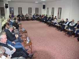 AK Parti İl Teşkilatı, İl Kurucular Kurulu ile bir araya geldi
