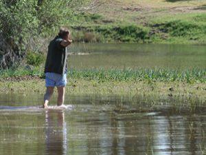 Beyşehirde tarım alanları sular altında