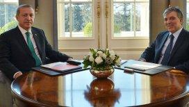 Cumhurbaşkanı Erdoğan, Abdullah Gül ile görüştü