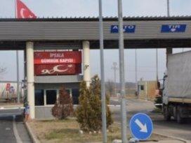 İpsala Sınır Kapısı süresiz olarak kapatıldı