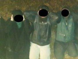 Askeri yasak bölgede 10 kişi yakalandı
