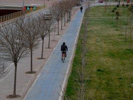 Büyükşehir'in bisiklet yolu ağı 447 km'ye ulaştı