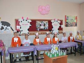 Okul sütü dağıtımı gerçekleştirildi
