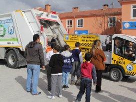 Cihanbeylide Çevremizi Temiz Tutalım projesi