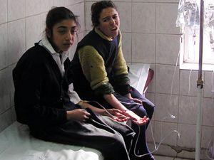 Kahvaltıdan zehirlenen 31 öğrenci hastanelik oldu