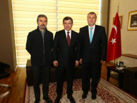 Davutoğludan Torku Konyaspora ziyaret