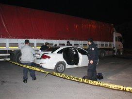Konyada otomobilde patlama: 2 yaralı