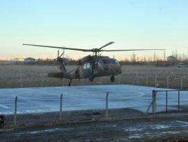 Akşehir'e ışıklandırmalı helikopter pisti