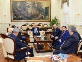 AK Parti Konya milletvekillerinden bakanlara ziyaret