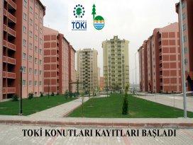 Bozkır'da ikinci etap TOKİ başvuruları başladı