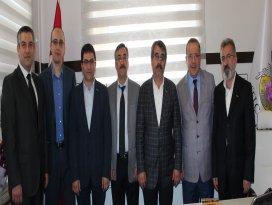 MÜSİAD Konya'dan Okka'ya hayırlı olsun ziyareti