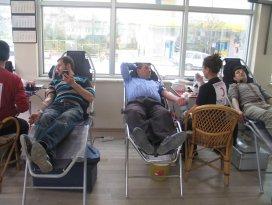 Kızılay'dan Altınekin'de kan bağışı