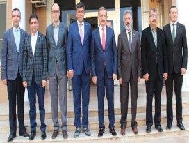 Rektör Şahin'den MÜSİAD Konya'ya iade-i ziyaret