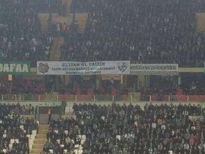 Torku Konyaspor taraftarından Tahir Büyükkörükçüye vefa