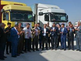 Konya İHH'dan Suriye'ye 2 TIR insani yardım