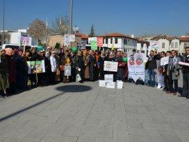 AK Kadınlardan Yeşilay yürüyüşü