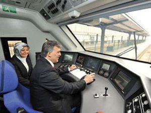 Cumhurbaşkanı Gül,saatte 254 km hız yaptı
