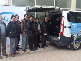 Mobil SGK Sarayönü'nde görücüye çıktı